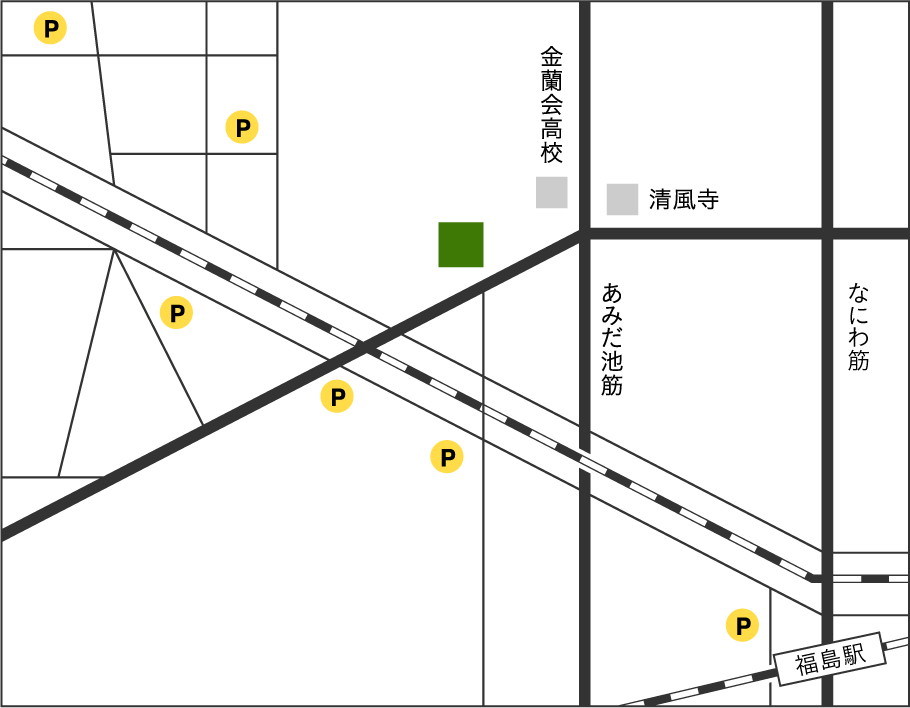 コインパーキング地図